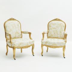 French Rococo furniture set ca 1860 - 962692