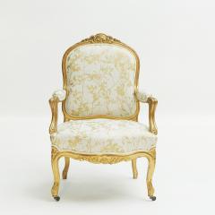 French Rococo furniture set ca 1860 - 962693
