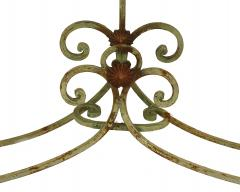 French Victorian Iron and Marble Console Table - 1427936