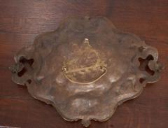 French Vintage Decorative Brass Vide Poche - 1367122