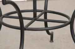 French Vintage Iron Garden Table Base - 1225824
