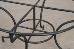 French Vintage Iron Garden Table Base - 1225825