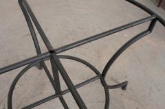 French Vintage Iron Garden Table Base - 1225826