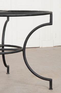 French Vintage Iron Garden Table Base - 1225827