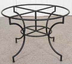 French Vintage Iron Garden Table Base - 1225830