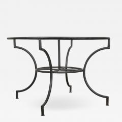 French Vintage Iron Garden Table Base - 1226108