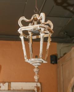 French Wooden Lantern - 1466855