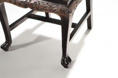 French chinoiserie neoclassical chair 1960s - 986974