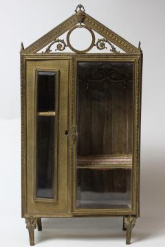 French ormolu jewelry box c 1880 France - 1653617