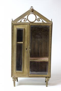 French ormolu jewelry box c 1880 France - 1653619