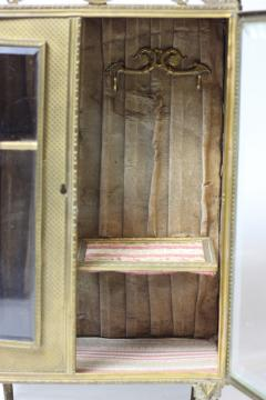 French ormolu jewelry box c 1880 France - 1653643