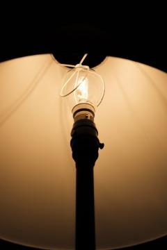 French tripod floor lamp 50s - 1704062