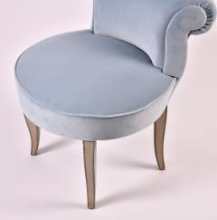 French vintage dressing table chair - 990094