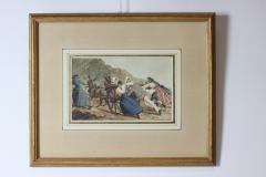 French watercolors set of 6 France 1885 - 1465201
