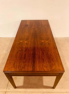 Frits Henningsen 1960s Rosewood Frits Henningsen Danish Coffee Table - 1687444