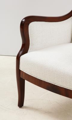 Frits Henningsen A Frits Henningsen Mahogany and Upholstered Wing Chair Circa 1940 50 - 1996690