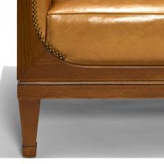 Frits Henningsen Elegant Sofa in Oak by Frits Henningsen - 1805612