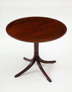 Frits Henningsen Frits Henningsen Mahogany Side Table Circa 1940s - 1881980