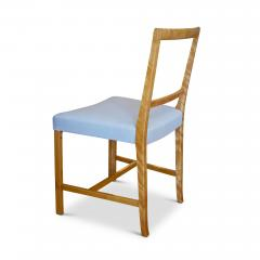 Frits Henningsen Set of Four Elegant and Rare Side Chairs in Birch by Frits Henningsen - 618024