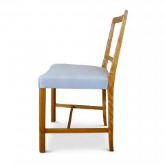 Frits Henningsen Set of Four Elegant and Rare Side Chairs in Birch by Frits Henningsen - 618025