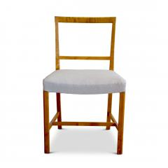 Frits Henningsen Set of Four Elegant and Rare Side Chairs in Birch by Frits Henningsen - 618027