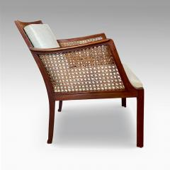 Frits Henningsen Superb Pair of Egyptian Inspired Armchairs by Frits Henningsen - 1881361