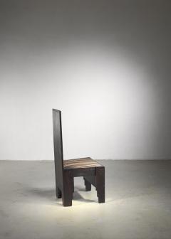 Frits Spanjaard Haagse School high chair by Frits Spanjaard - 1490798