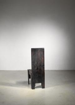 Frits Spanjaard Haagse School high chair by Frits Spanjaard - 1490799
