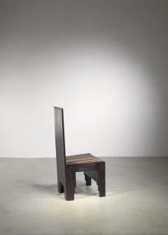 Frits Spanjaard Haagse School high chair by Frits Spanjaard - 1490801