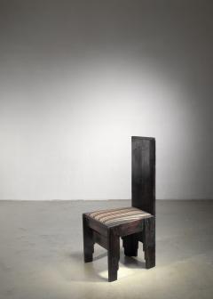 Frits Spanjaard Haagse School high chair by Frits Spanjaard - 1490802