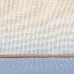 Fritz Hansen Fritz Hansen attributed Long Danish Sofa in Ivory Weave Leather Accents - 1623381