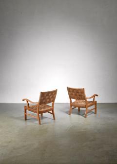 Fritz Hansen Fritz Hansen beech and seagrass chairs Denmark 1930s - 1015064