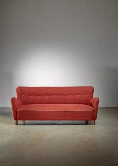 Fritz Hansen Fritz Hansen sofa Denmark 1940s - 1138518