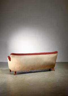 Fritz Hansen Fritz Hansen sofa Denmark 1940s - 1138520