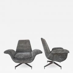 Fritz Hansen Pair of Danish Chairs By Fritz Hanzen 1960s - 2127329
