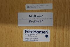 Fritz Hansen Ten Fritz Hansen Series 7 Chairs in Maple Sold in Pairs - 2085640