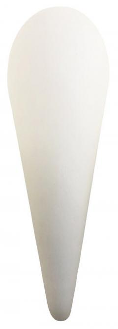 Frosted Glass Cone Sconces Italy 1960 s - 1092036