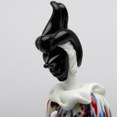 Fulvio Bianconi Fulvio Bianconi for Venini Murano Pair of Figurines Arlecchino and Arlecchina - 1060489