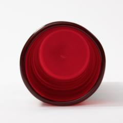 Fulvio Bianconi Vintage Venini Murano Fulvio Bianconi A fasce Orizzontali Blown Glass Vase - 1296080