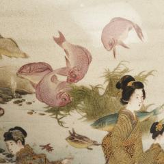 Fuzan Ryun An interesting Japanese Meiji Period Satsuma vase signed Fuzan Ryun - 1368869