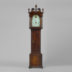An Eight Day Walnut Tall Case Clock Circa 1795 - 10756
