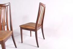 G Plan Midcentury Set of 6 G Plan Dining Chairs by Leslie Dandy - 1669588