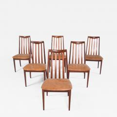 G Plan Midcentury Set of 6 G Plan Dining Chairs by Leslie Dandy - 1670903