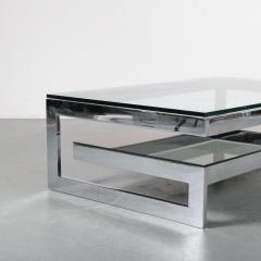 G Shape Coffee Table by Belgo Chrom Belgium 1970 - 1447180