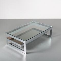 G Shape Coffee Table by Belgo Chrom Belgium 1970 - 1447183
