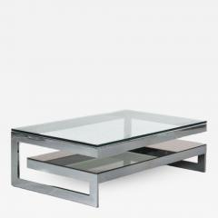 G Shape Coffee Table by Belgo Chrom Belgium 1970 - 1447417