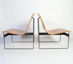 G nter Renkel G nter Renkel for Rego Bentwood Lounge Chairs Germany 1959 - 1362437
