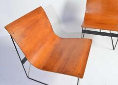 G nter Renkel G nter Renkel for Rego Bentwood Lounge Chairs Germany 1959 - 1362440