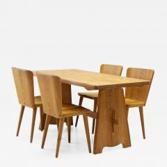 G ran Malmvall Five Piece Pine Dining Set by Goran Malmvall for Karl Andersson S ner Sweden - 1002920