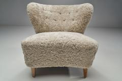 G sta Jonsson G sta Jonsson Lounge Chair from J nk ping Sweden 1940s - 2069032